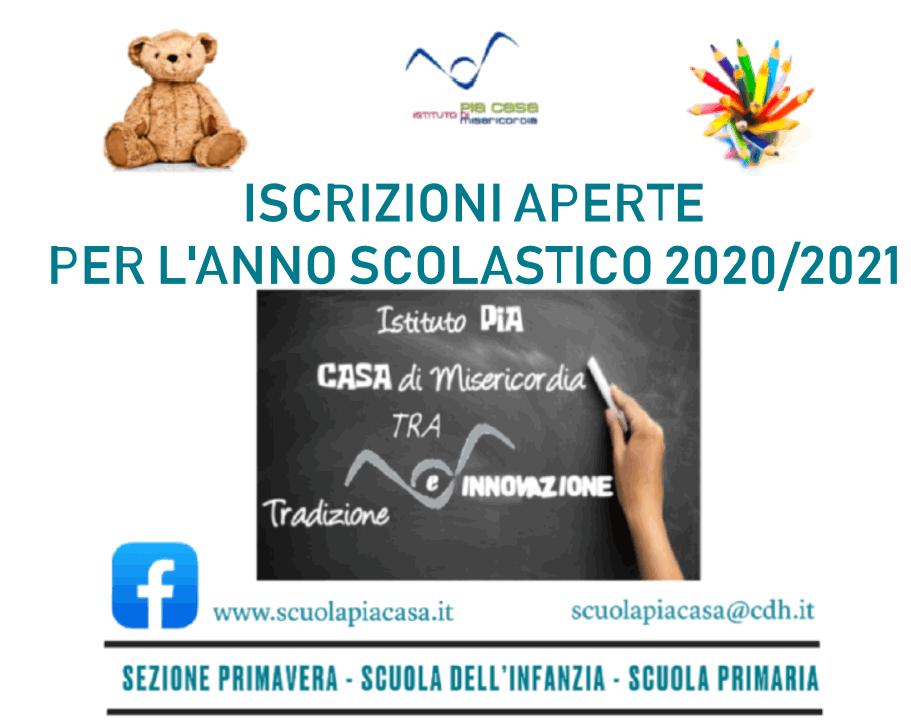 Iscrizioni 2020-2021